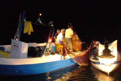 Lamparata night fishing marina di camerota