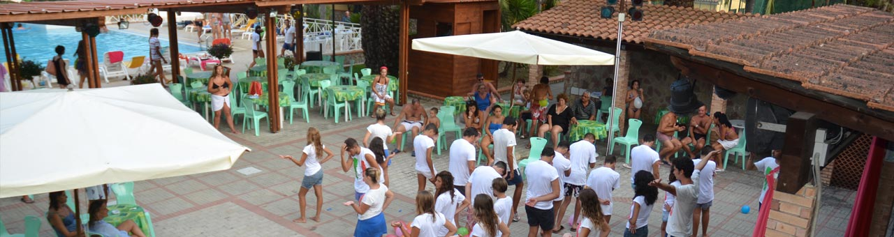 Holiday complex with entertainment Palinuro