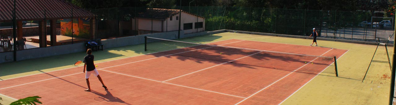 Holiday sport and recreation complex palinuro tennis court