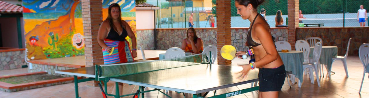 Holiday sport and recreation complex palinuro table tennis