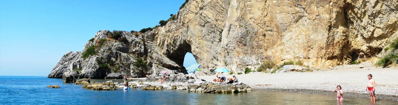 Beach of Arco Naturale