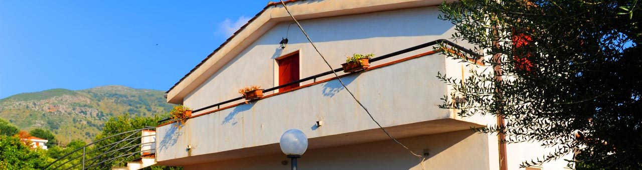 Family holiday homes in palinuro
