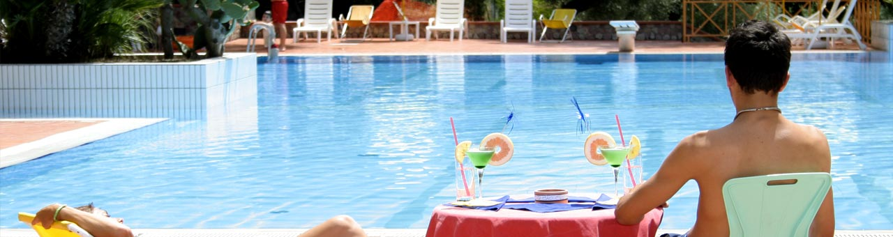 holiday residence palinuro with pool